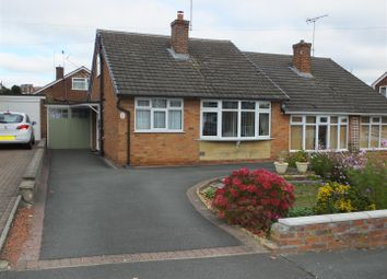Thumbnail 4 bed semi-detached bungalow for sale in Bosworth Drive, Horninglow, Burton-On-Trent