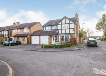 Thumbnail 4 bed detached house for sale in Templecombe Road, Bishopstoke, Eastleigh