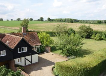 Thumbnail 4 bed cottage for sale in Coney Weston Road, Sapiston, Bury St. Edmunds