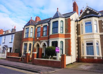 Thumbnail 3 bedroom terraced house for sale in Clive Road, Cardiff
