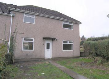 Thumbnail 3 bed semi-detached house to rent in Heol Tir Du, Cwmrhydyceirw, Swansea