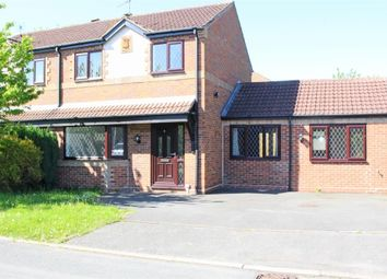 Thumbnail Semi-detached house to rent in Sherwood Close, Wood End, Atherstone, Warwickshire
