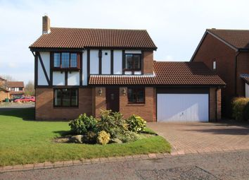 Thumbnail 4 bed detached house to rent in Ely Close, High Heaton, Newcastle Upon Tyne