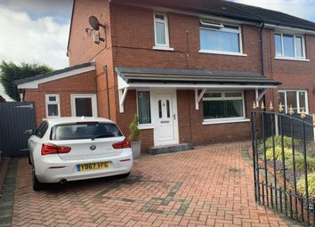 Thumbnail 2 bedroom semi-detached house for sale in Borrowdale Crescent, Ashton-Under-Lyne