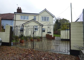 Thumbnail 4 bed semi-detached house for sale in Norwich Road, Bergh Apton, Norwich