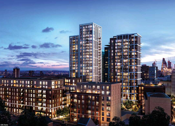 Thumbnail 1 bed flat for sale in The Silk District, 132 Cavell St, Whitechapel, London