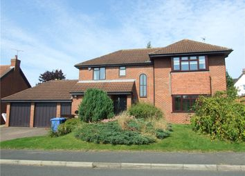 Thumbnail 4 bed detached house for sale in Lambley Drive, Allestree, Derby