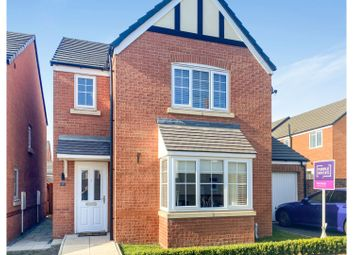 Thumbnail 3 bed detached house for sale in Rosemary Drive, Crewe
