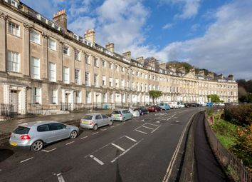 Thumbnail 3 bedroom flat for sale in Camden Crescent, Bath