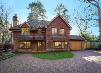 Thumbnail 4 bed detached house for sale in Kimberley Ride, Cobham, Surrey