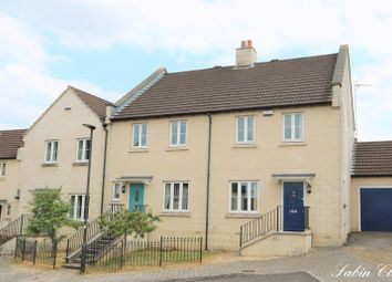Thumbnail 3 bed end terrace house for sale in Sabin Close, Bath