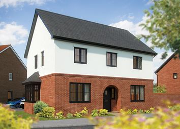 "Thumbnail 4 bedroom detached house for sale in ""The Chestnut"" at London Road, Norman Cross, Peterborough"