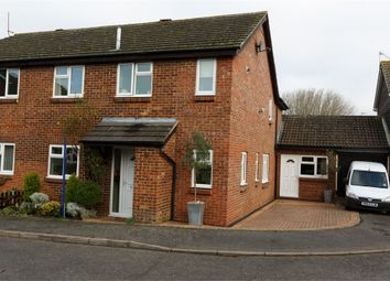Thumbnail 4 bed semi-detached house for sale in Lagonda Close, Newport Pagnell, Buckinghamshire