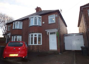 Thumbnail 3 bed semi-detached house for sale in Hauxley Gardens, Newcastle Upon Tyne