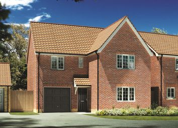 "Thumbnail 4 bed detached house for sale in ""The Newbury "" at Carsons Drive, Great Cornard, Sudbury"