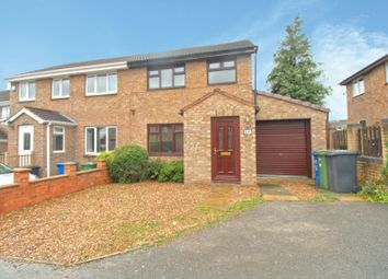 Thumbnail 3 bed semi-detached house for sale in Kidsley Close, Linacre Woods, Chesterfield
