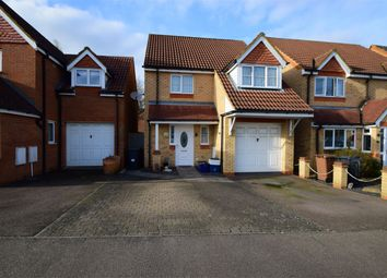Thumbnail 3 bed detached house for sale in Severn Way, Great Ashby, Stevenage, Hertfordshire