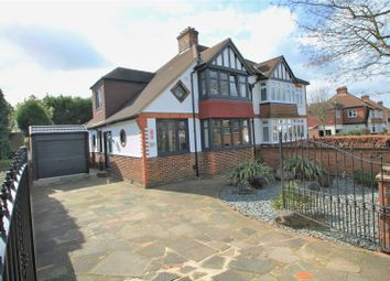 Thumbnail 4 bed semi-detached house for sale in Chatham Avenue, Hayes, Bromley