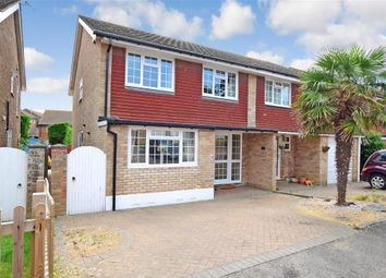 3 bed semi-detached house for sale in Carey Down, Telscombe Cliffs, East Sussex BN10