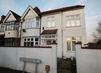 Thumbnail 2 bed flat to rent in Peterborough Road, Leyton