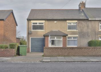 Thumbnail 4 bed semi-detached house for sale in North Ridge, Bedlington