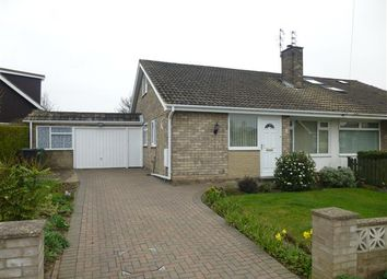 Thumbnail 3 bed semi-detached bungalow for sale in Bowness Drive, Rawcliffe, York