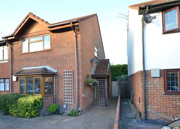 Thumbnail 3 bedroom end terrace house for sale in Fallowfield, Yateley, Hampshire
