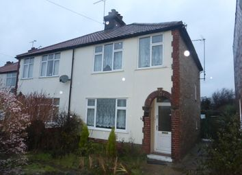 Thumbnail 3 bed property to rent in Sproughton Road, Ipswich