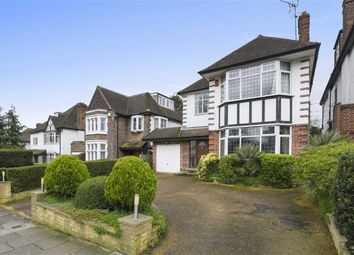 Thumbnail 4 bed detached house for sale in Powys Lane, London, London