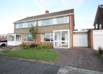 Thumbnail 3 bed semi-detached house for sale in Barbondale Lonnen, Newcastle Upon Tyne