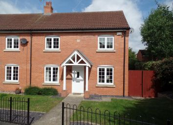 Thumbnail 3 bed semi-detached house for sale in Exley Square, Lincoln