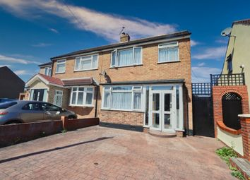 3 bed semi-detached house for sale in Cross Road, Mawneys, Romford RM7