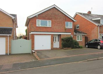 Thumbnail 4 bed detached house for sale in Hastings Way, Ashby-De-La-Zouch