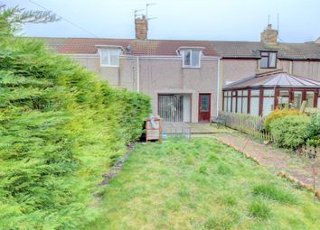 Thumbnail 2 bed terraced house for sale in School Row, North Broomhill, Morpeth