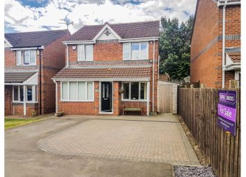 Thumbnail 3 bed detached house for sale in Abbotsfield Way, Darlington