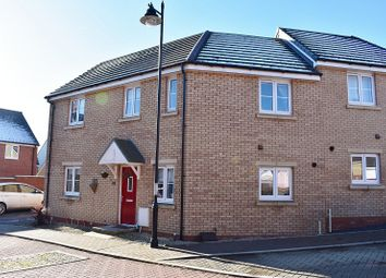 3 bed end terrace house for sale in Lon Yr Ardd, Coity, Bridgend. CF35