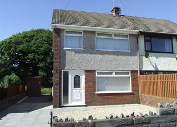 Thumbnail 3 bed semi-detached house for sale in Pantydwr, Three Crosses, Swansea