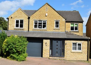 Thumbnail 4 bed detached house to rent in Upper Hall View, Northowram, Halifax