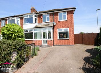 Thumbnail 4 bed semi-detached house for sale in Turnbull Drive, Braunstone Town, Leicester