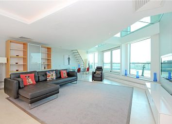 Thumbnail 3 bedroom flat to rent in Cinnabar Wharf Central, 24 Wapping High Street, London