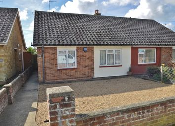 Thumbnail 2 bed semi-detached bungalow for sale in Vicarage Road, Felixstowe