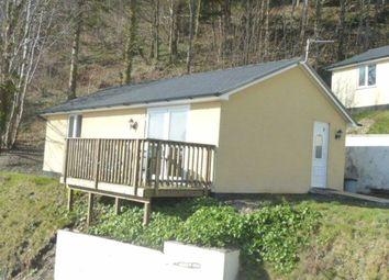 Thumbnail 2 bed mobile/park home for sale in Plas Panteidal, Aberdyfi, Gwynedd
