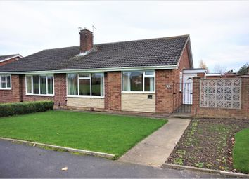 Thumbnail 2 bed semi-detached bungalow for sale in Lockerbie Walk, Stockton-On-Tees