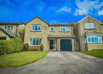 Thumbnail 4 bed detached house for sale in Turf Meadow, Loveclough, Rossendale