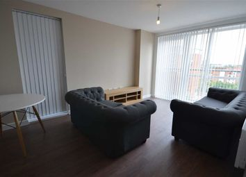 Thumbnail 3 bedroom flat to rent in The Riley Building, Lowry Wharf, Salford, Salford, Greater Manchester