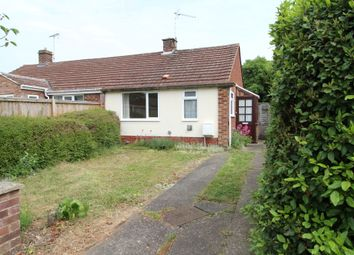 Thumbnail 1 bed semi-detached bungalow for sale in Cadogan Road, Bury St Edmunds, Suffolk