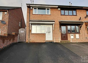 Thumbnail 2 bed end terrace house for sale in Holland Road, Old Whittington, Chesterfield, Derbyshire