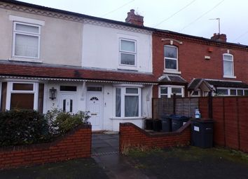 Thumbnail 3 bed property to rent in Mayfield Avenue, Selly Park, Birmingham