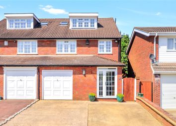 Thumbnail 5 bedroom semi-detached house for sale in Wadham Road, Abbots Langley
