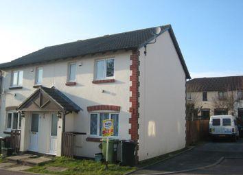 Thumbnail 3 bed end terrace house to rent in Moorland Gate, Heathfield, Newton Abbot, Devon